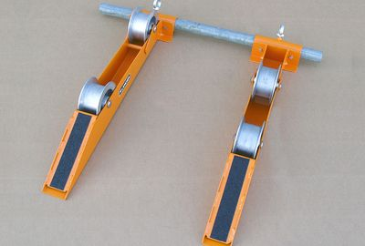 Cable-Drum Take-off Rollers with conneting tube